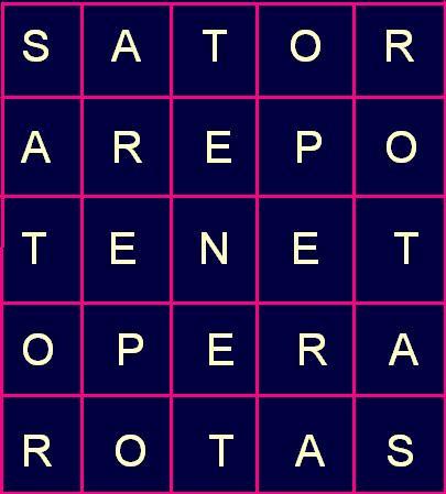 Quadrato del Sator