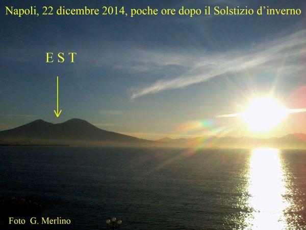 Solstizio d'inverno 22 dic. 2014