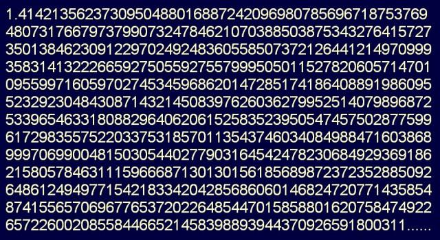 radice quadrata di 2